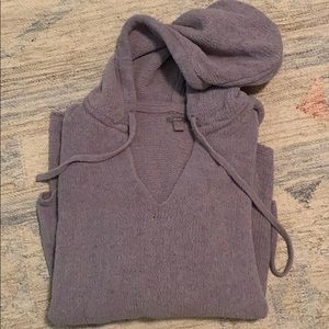 Aerie Chenille Hooded Pullover